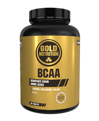 GoldNutrition BCAA'S 60 tb